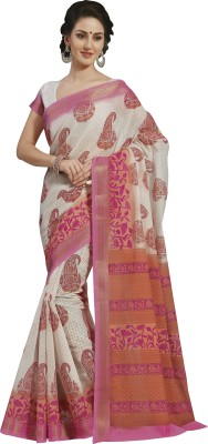 KALYAN SILK WORLD Printed Mysore Art Silk Sari