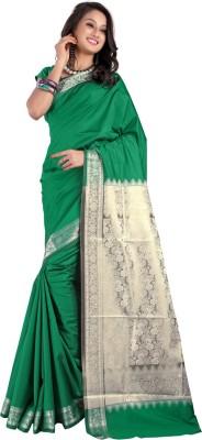 Shobha Sarees Self Design Fashion Art Silk Sari