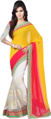 Ratnapriya Sarees Printed Fashion Georgette Sari
