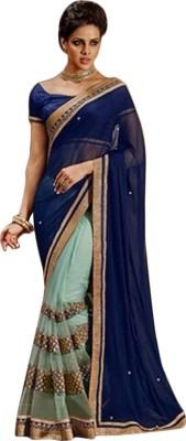 Fab Fashion Studio Embriodered Fashion Net Sari