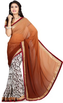 Go4fashion Printed Fashion Georgette Sari