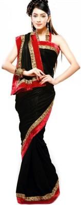 Ridhhi Solid Bollywood Brasso Sari