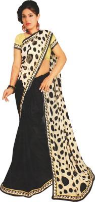 Aparna Creation Embriodered Chanderi Georgette Sari