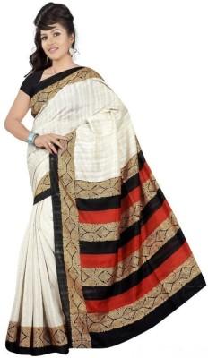 Harikrishna Trading Printed Bhagalpuri Cotton Sari