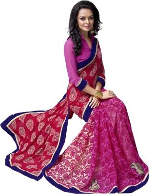 Triveni Printed Fashion Chiffon Sari