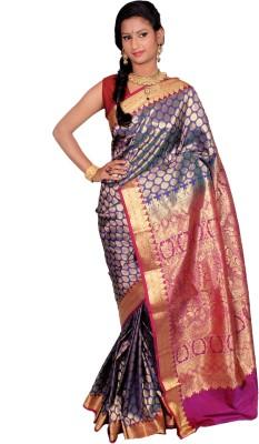 JCN Self Design Mysore Art Silk Sari