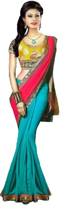 Aliya Trendz Embriodered Bollywood Georgette Sari