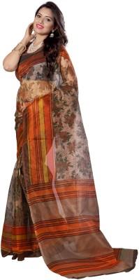 Wholetex Printed Bhagalpuri Cotton Sari