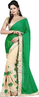 Laxmi Sarees Self Design Fashion Georgette Sari