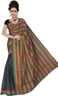 Mohta Fashions Printed Fashion Silk Cotton Blend Sari