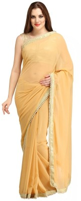 bhuwal fashion Embellished Fashion Chiffon Sari