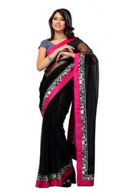 Imani Self Design Fashion Georgette Sari