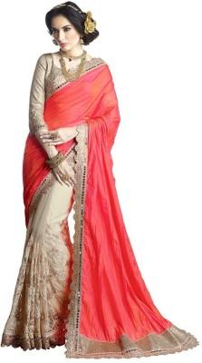 Vastrangsarees Embriodered Fashion Tussar Silk Sari