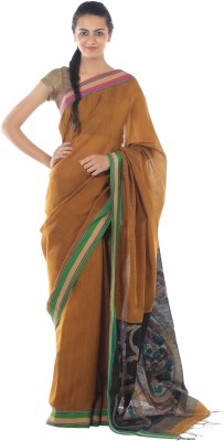 Kiara Crafts Woven Phulia Handloom Cotton Sari