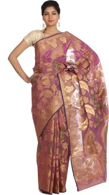 Indian Artizans Woven Banarasi Silk Sari