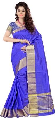 Vastrakala Woven Fashion Tussar Silk Sari