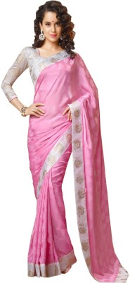 Deepjyoti Creation Self Design Fashion Chiffon Sari