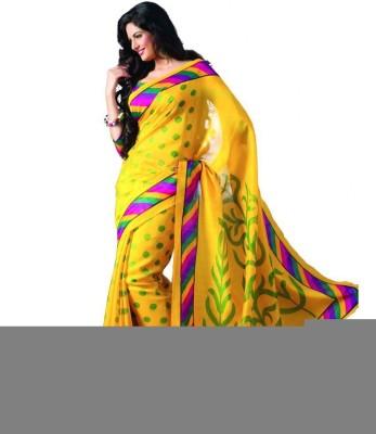 Kavita Fashion Printed Bhagalpuri Cotton Sari
