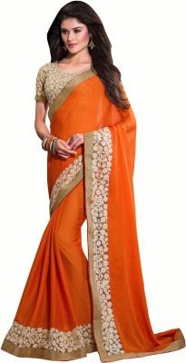 Crafts N Culture Self Design Fashion Pure Chiffon Sari