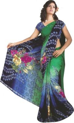 Nidhi Collection Printed Fashion Brasso Sari