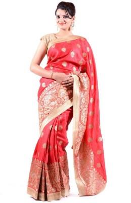 Janaknandini Embriodered Fashion Tussar Silk Sari