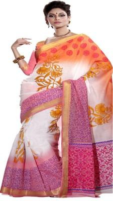 BEAUVILLE VAIIBAVAM Printed Fashion Cotton Lycra Blend Sari