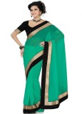Angel Retail Self Design Bollywood Chiff...