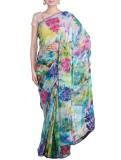 Reme Embellished Fashion Chiffon Saree (...