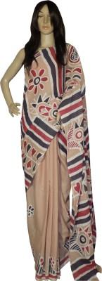 KheyaliBoutique Graphic Print Hand Batik Handloom Cotton Sari