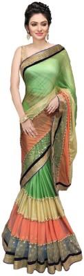 Hian Self Design Bollywood Lycra Sari