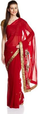 Aryahi Embriodered Daily Wear Georgette Sari