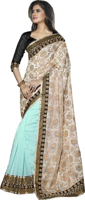 Saree Exotica Embriodered Fashion Brasso Sari available at Flipkart for Rs.3612