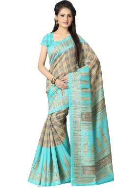 Vaamsi Printed Daily Wear Tussar Silk Sari
