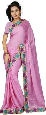 RA Self Design Bollywood Jacquard, Satin Sari