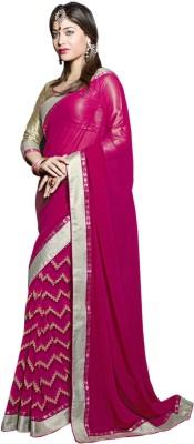 Vandvshop Printed Fashion Handloom Georgette Sari