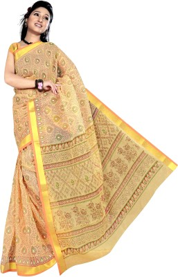 Srujan Printed Fashion Cotton Sari
