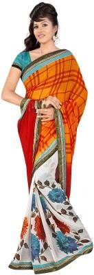 Janya Self Design Muslin Georgette Sari