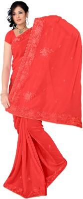 Sitaram Printed, Embriodered Fashion Handloom Art Silk Sari