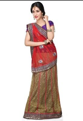 Utsav Fashion Embellished Patola Net Sari