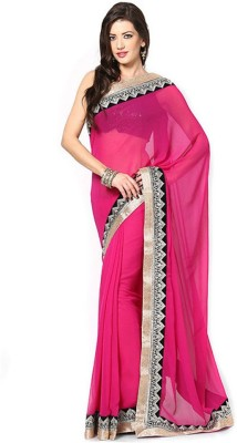 Janya Self Design Fashion Georgette Sari