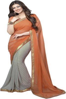 STYLE CODE Printed Fashion Georgette Sari
