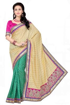 Sonal Saree Embriodered Bollywood Brocade Sari