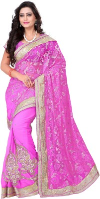 AC Creation Embriodered Bollywood Georgette Sari