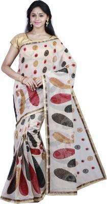 Mann Embriodered Banarasi Kota Cotton Sari