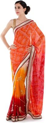 Bazzzar Printed Fashion Georgette Sari