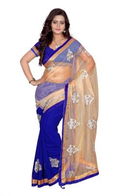 Raviraj Embriodered Fashion Georgette Sari