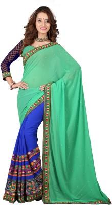 Jay Gopal Embriodered Fashion Georgette Sari