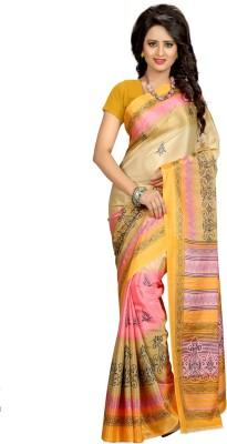Kalika Self Design Bollywood Art Silk Sari