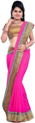 KRUPALI FASHION Floral Print Bollywood Georgette Sari