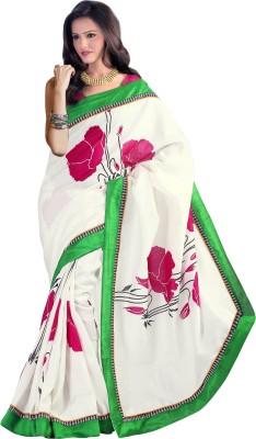 Prafful Printed Fashion Silk Sari